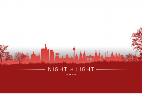 "Stadthalle Erkelenz wird bei Night of Light am 22. Juni in ""ROT"" angestrahlt"