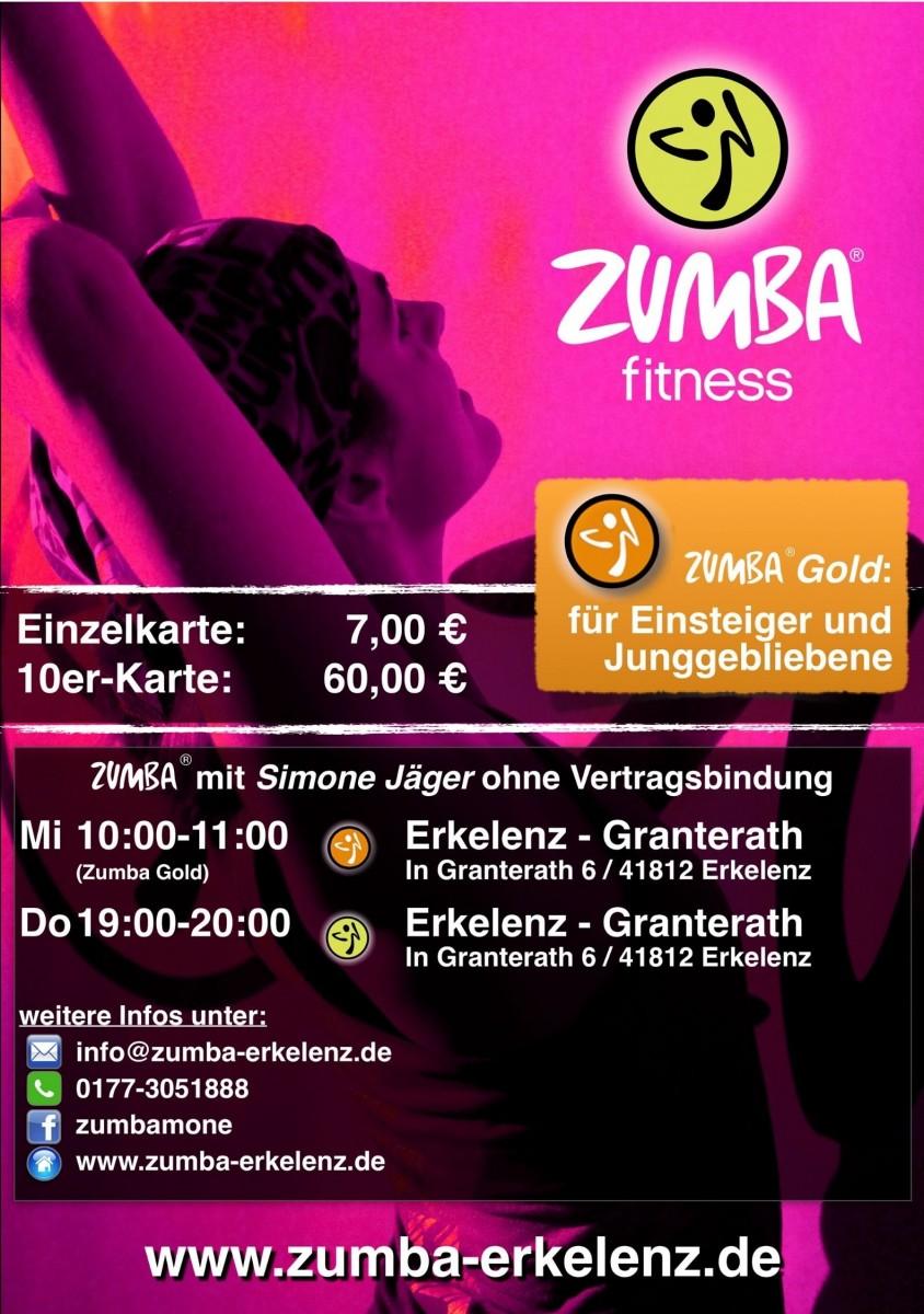 Simone Jäger, Zumba Erkelenz